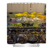 Sears Craftsman Professional Tool Chest Shower Curtain