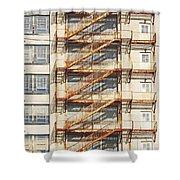 Sears Crosstown Fire Escape Memphis Tn Shower Curtain