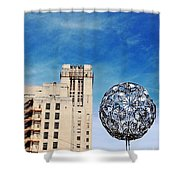 Sears Crosstown Memphis Shower Curtain