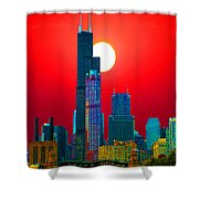 Sears Tower Willis Tower Chicago Shower Curtain