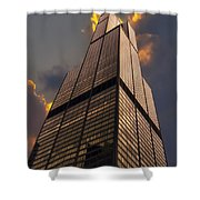 Sears Willis Tower Shower Curtain