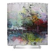 Seascape 000013 Shower Curtain