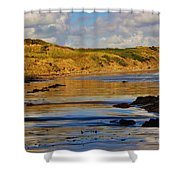 Seascape At Phillip Island Shower Curtain