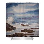 Seascape Five Shower Curtain
