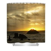 Seascape Oregon Coast 2 Shower Curtain