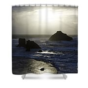 Seascape Oregon Coast 4 Shower Curtain