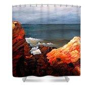 Seascape Series 6 Shower Curtain