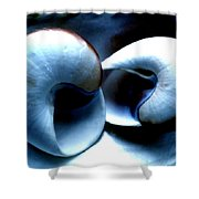 Seashell Rest Shower Curtain