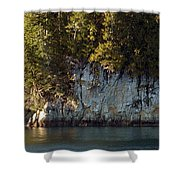 Seaside Cliffs Shower Curtain