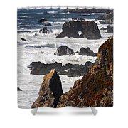 Seaside Color Shower Curtain