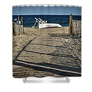 Seaside Park New Jersey Shore Shower Curtain