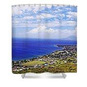 Seaside Resort Shower Curtain