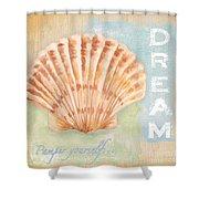 Seaside Retreat-d Shower Curtain by Jean Plout