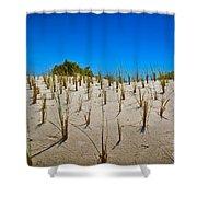 Seaside Sand Dunes Shower Curtain