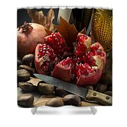 Seasonal Still-life Shower Curtain