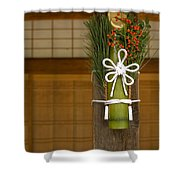 Seasonal Welcome Shower Curtain