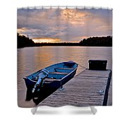 Seasons End Shower Curtain