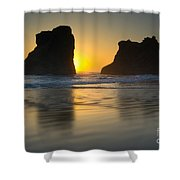 Seastacks, Oregon Shower Curtain