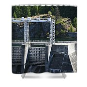 Seat Of Power Shower Curtain