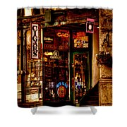 Seattle Cigar Shop Shower Curtain