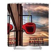 Seattle Coffee Shower Curtain
