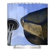 Seattle Emp Building 4 Shower Curtain