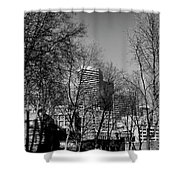Seattle From Pioneer Square Shower Curtain