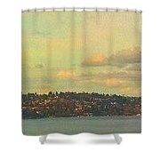 Seattle Landscape 12-12 Shower Curtain