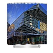 Seattle Library Shower Curtain