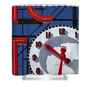 Seattle Market Sign Shower Curtain