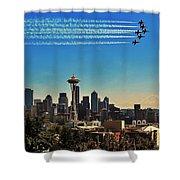 Seattle Seafair Shower Curtain