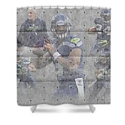 Seattle Seahawks Team Shower Curtain