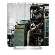 Seattle Steel And Sky Shower Curtain