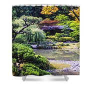 Seattle Tea Garden Shower Curtain