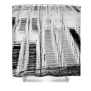 Seaweed Farm Shower Curtain