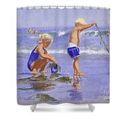 Seaweed Play Shower Curtain
