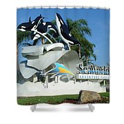 Seaworld Anticipation Shower Curtain