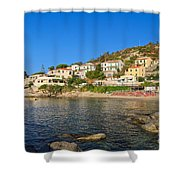 Seccheto - Elba Island Shower Curtain