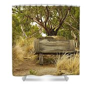 Secluded Bench Shower Curtain