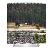 Secluded Cabin Shower Curtain