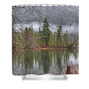 Secluded Cove Shower Curtain