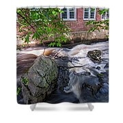 Secluded Falls #2 Shower Curtain