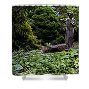 Secluded Garden Shower Curtain