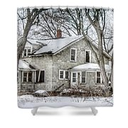 Secluded Old House Shower Curtain