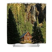 Secluded Tranquility Shower Curtain