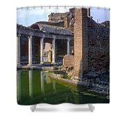 Second Century Villa Of Emperor Hadrian  Shower Curtain