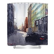 Second City Hustle Shower Curtain