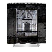 Second World War Submarine Base Shower Curtain