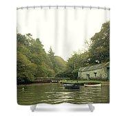 Secret Boathouse Shower Curtain