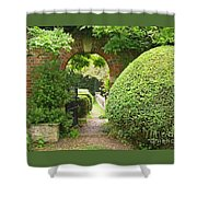 Secret English Garden Shower Curtain